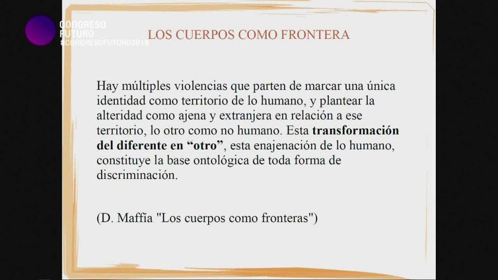 Diana Maffia: Discriminación por género y orientación sexual