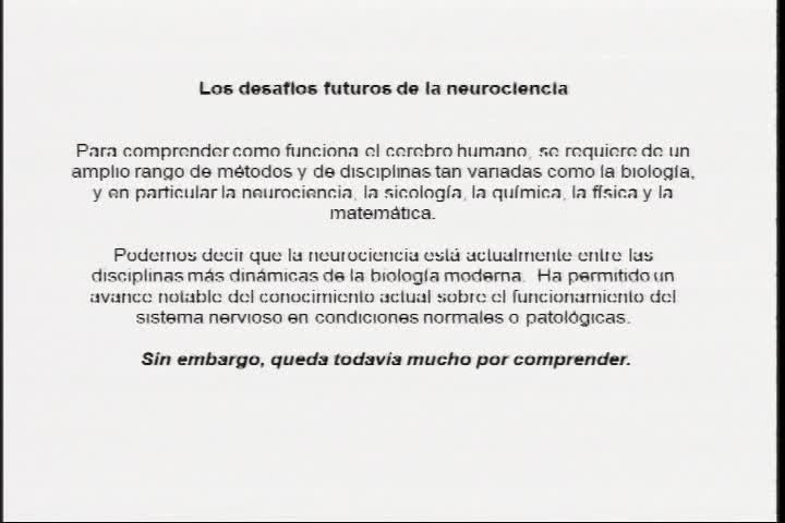 Desafíos futuros de la neurociencia
